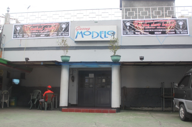 Ginoong Modelo Entertainment Bar on Dimasalang Street, Sampaloc, Manila is a stone's throw from North Cemetery and Chinese General Hospital in Sta. Cruz District also in Manila.  This establishment is another of Manila's few macho dancer bars.