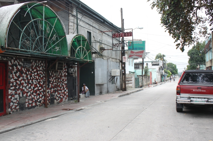 Hotmen on Standford Street in Cubao, Quezon City.