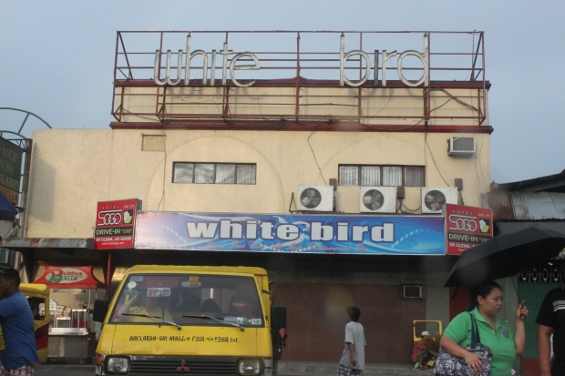 Paranaque City's only macho dancer bar, White Bird is on Roxas Boulevard, a major thoroughfare traversing both Manila and Paranaque.